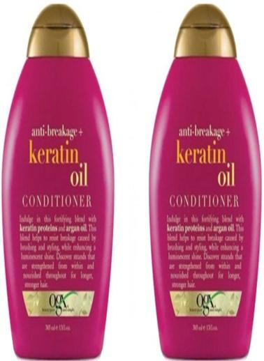 Organix Ogx Kırılma Karşıtı Keratin Oil Bakım Kremi 385 ml x 2 Adet Renksiz